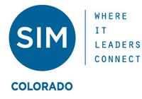 SIM (Society for Information Management), Colorado