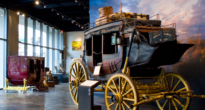 Wells Fargo History Museum. Link provided by Phoenix Information Technology Seminars